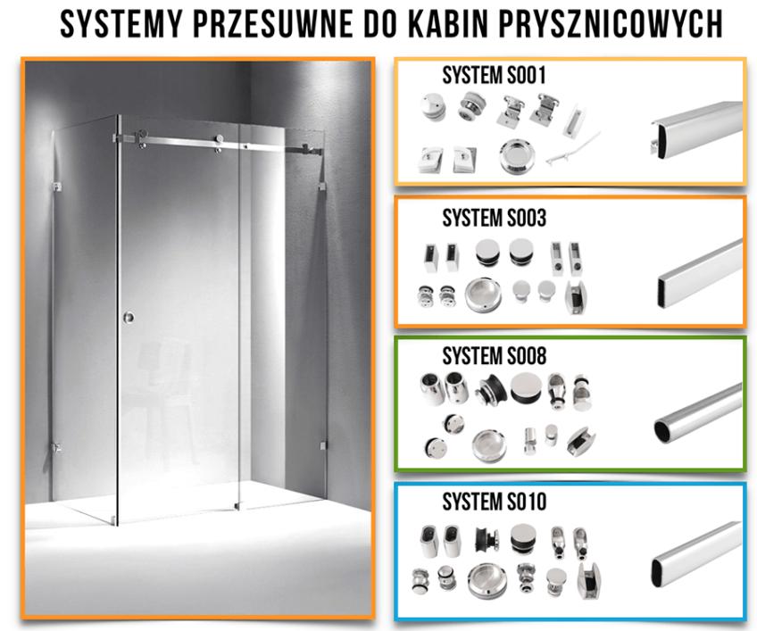 Profil do kabin prysznicowych – NOWOŚĆ !